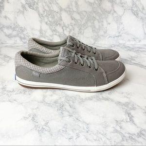 Keds OrthoLite Gray Comfort Casual Sneakers